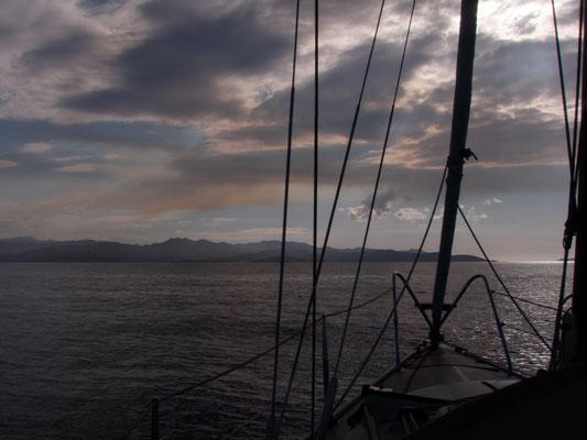 Approaching Corsica