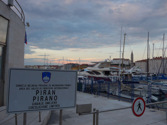 Piran: check-in and -out Slovenia