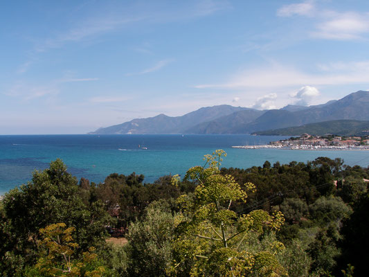 Plage d'OTrying to hitchhike to plage d'Ostricioni....not easy at all :-/ ...
