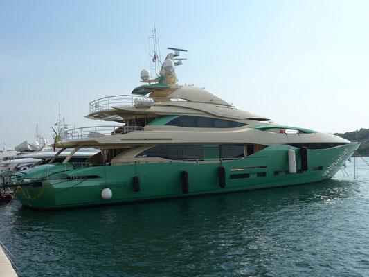 ...ugly mega yachts.