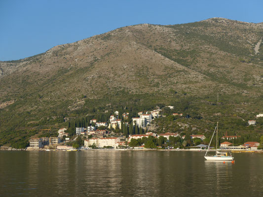 Cavtat anchorage