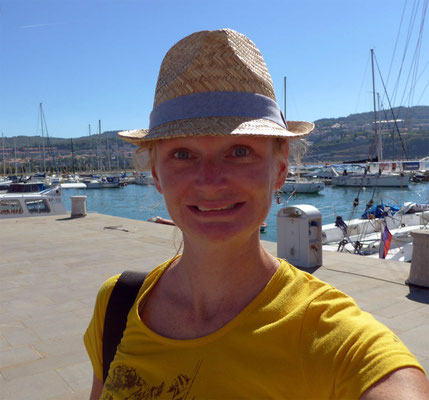 As happy as one can be when arriving in Koper/Slovenia