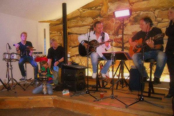 Zur alten Tischlerei - Bistro Pappsdorf, Weimar ~ mit spontaner Percussionbegleitung!