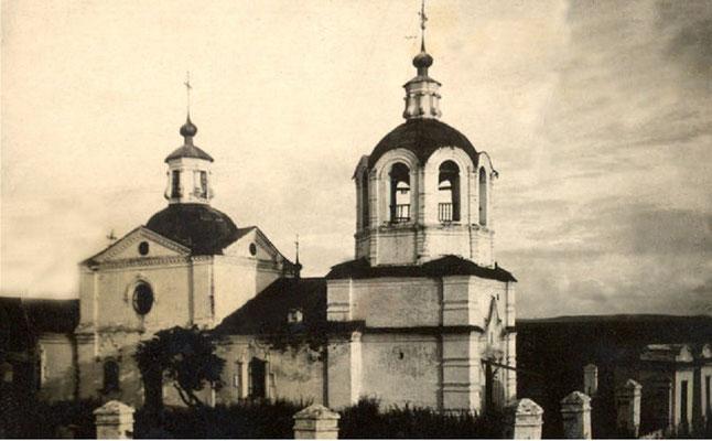 Анашенская Спасская церковь, основанная в 1780 году