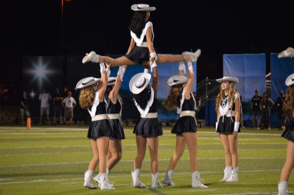 viper football vandegrift high school legacies dance team