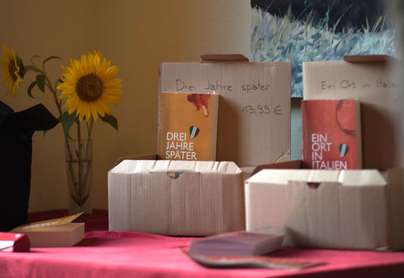 Lesung aus Ein Ort in Italien und Drei Jahre später von Emmi Ruprecht