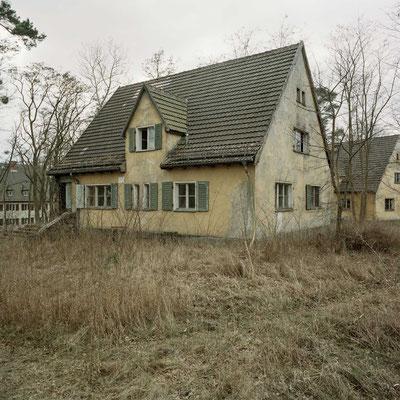 Ravensbrück - SS-Siedlung am Lager für ranghohe Lagerführer