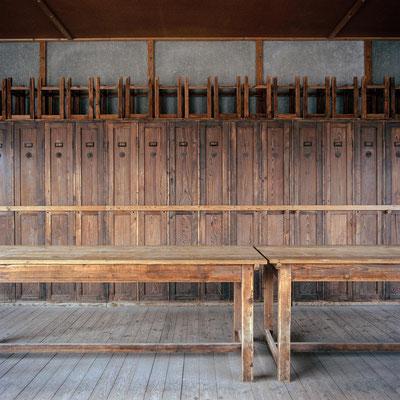Dachau - Aufenthaltsraum Häftlinge