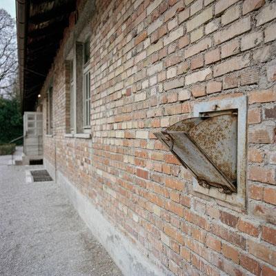 Dachau - Gaseinwurfslucke