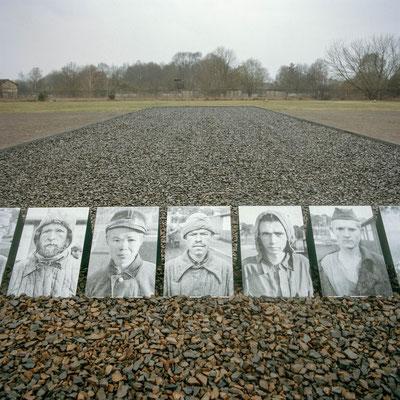 Sachsenhausen - Standort der Erschiessungsbaracke für Sowjetische Kriegsgefangene