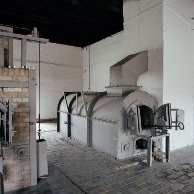Ravensbrück - Ofen im Krematorium