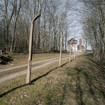 Buchenwald - Postenweg der SS