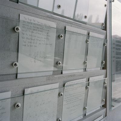 Dachau - Evangelische Versöhnungskirche (aktuelle Besucherbriefe)