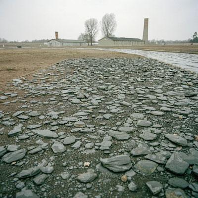 Sachsenhausen - Schuhprüfstrecke auf dem Lagergelände