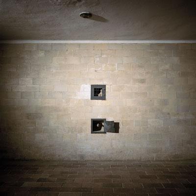 Dachau - Beobachtungslucke (oben) Gaskammer