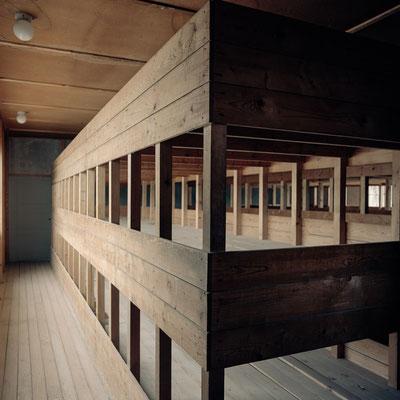 Dachau - Häftlingsunterkünfte 1944
