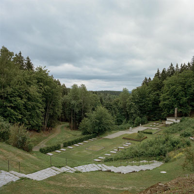 "Flossenbürg - Blick in das ""Tal des Todes"""
