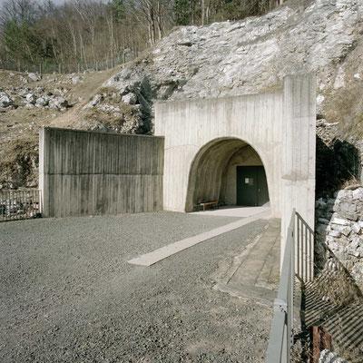 Mittelbau Dora - Stolleneingang