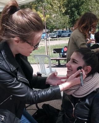 Maquilladora para eventos Zaragoza