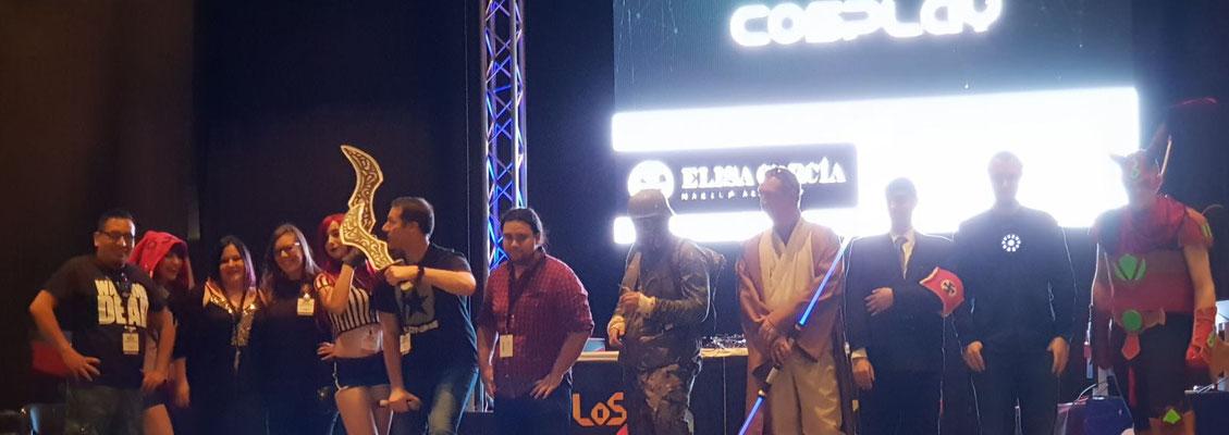 Jurado en concurso de cosplay Zaragoza, los 40 principales.