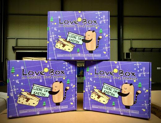 Liebe im Karton - Kartons 2020