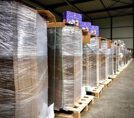 Liebe im Karton - 14.000 Kartons
