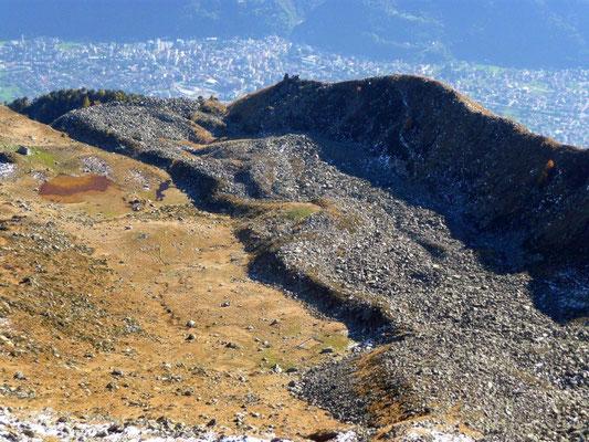 Rock Glacier sul Monte Spluga, fotografato dall'amico alpinista Enrico Vian