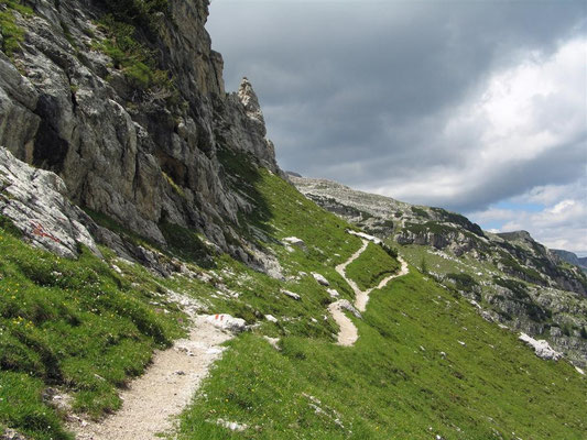 sentiero a fondo in terra battuta