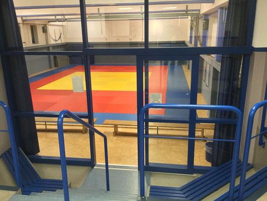 Ansicht aus dem Eingangsbereich des Remscheider TV.
