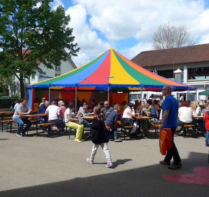 Sommerfest im Schulhof