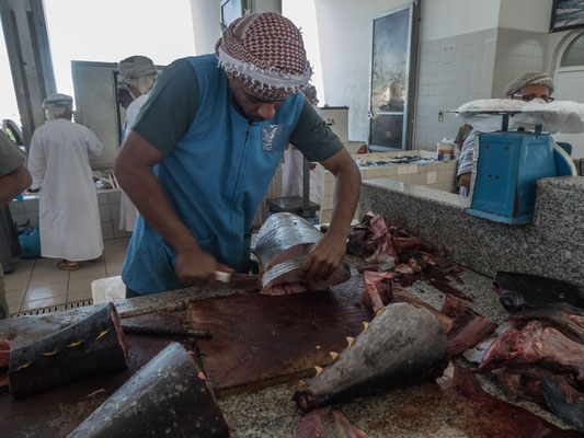 Fischmarkt in Sohar