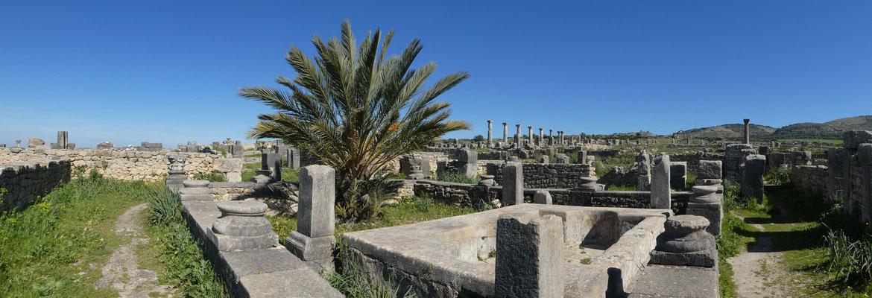 Römische Ausgrabungen in Volubilis