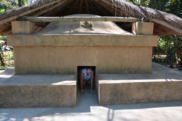 Karin in der Sauna