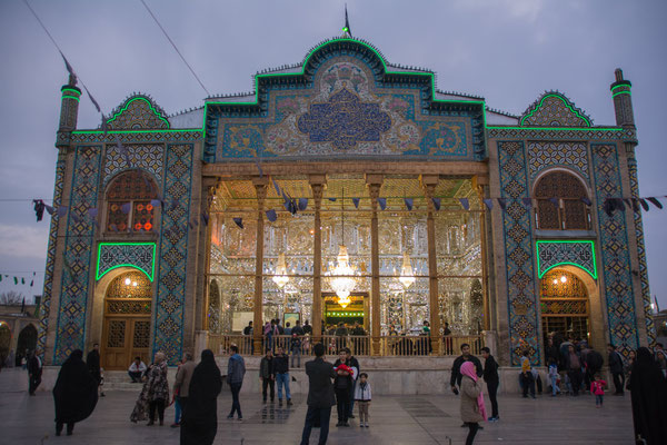 Mausoleum in Qazvin