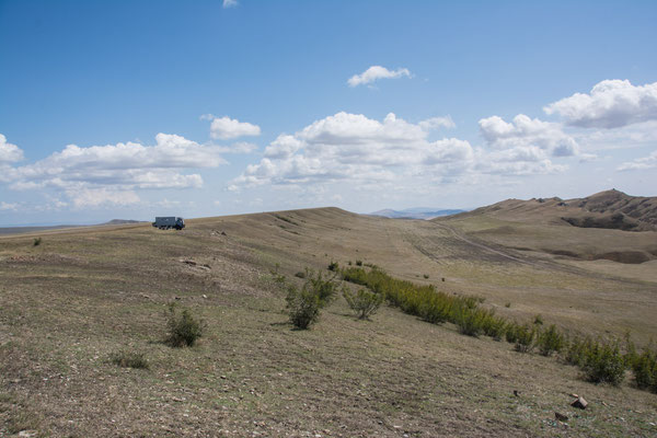 Auf dem Weg vom Kloster David Garedscha