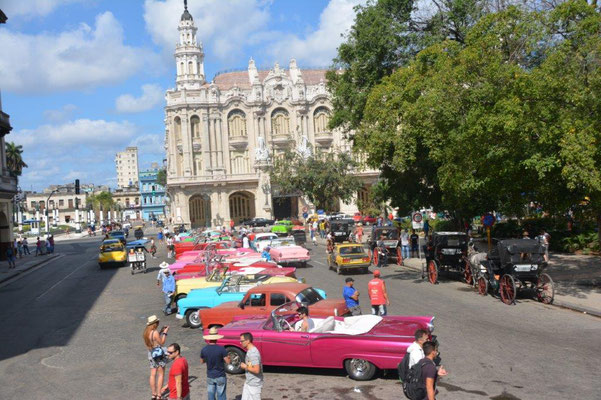Havanna - Oldtimer Parade
