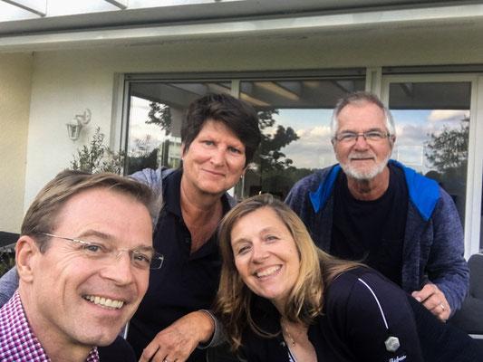 Besuch bei Reinhard und Bettina
