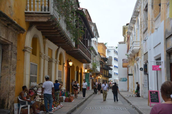 Cartagena historic town