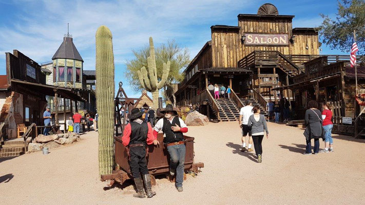 Ghost Town bei Apache Junction
