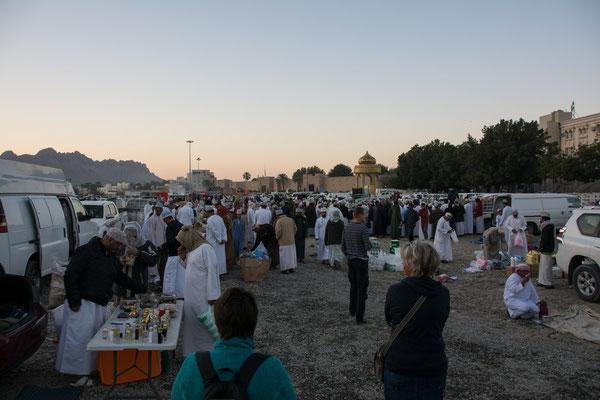 Tiermarkt in Nizwa