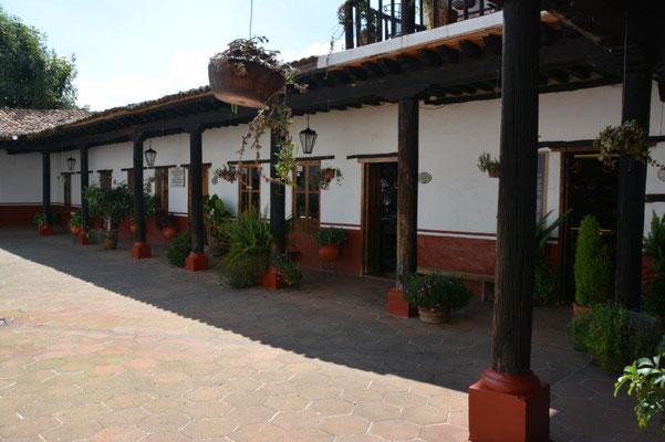 Patzcuaro - ehemaliges Kloster mit 11 Innenhöfen