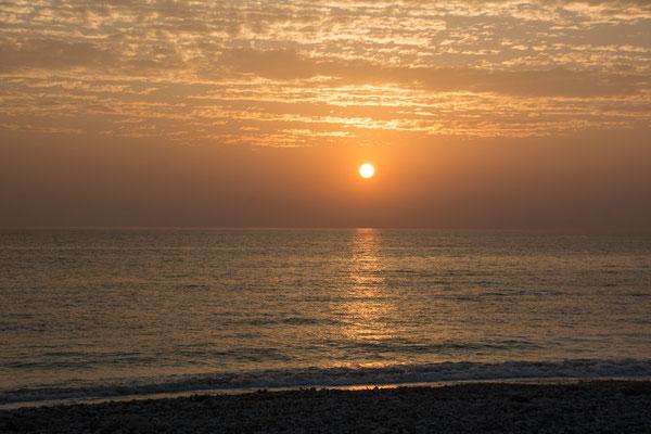 Sunset at White Beach