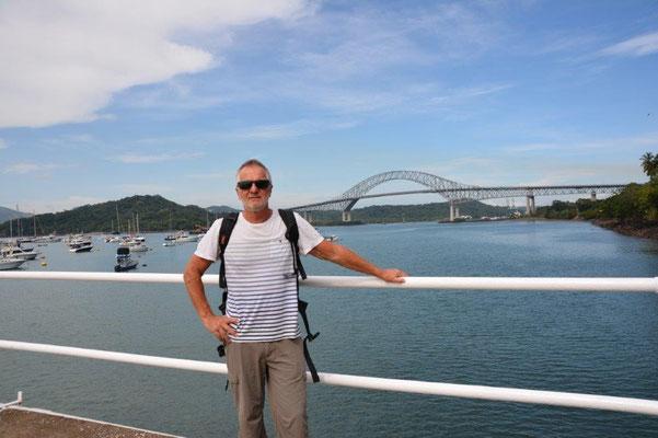 Blick vom Yacht Club auf auf die Puenta de las Americas