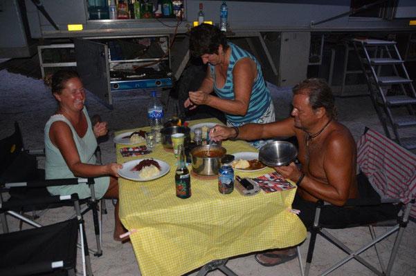 Gemeinsames Abendessen mit Kathrin & Rüdiger