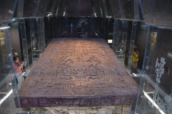 Palenque - Nachbildung der Grabkammer