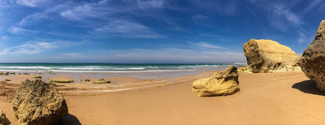 Am Strand von Armacao de Pera