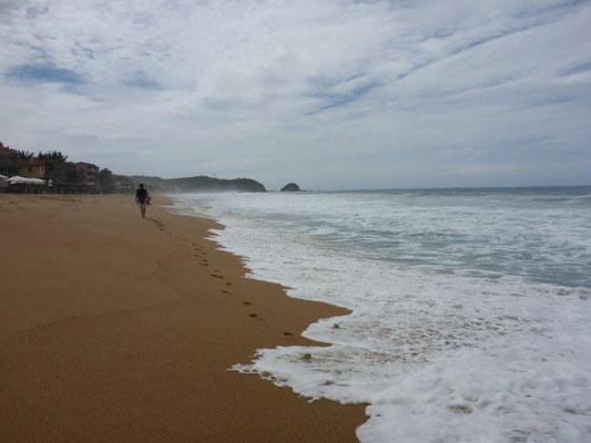 Am Strand von Zipolite