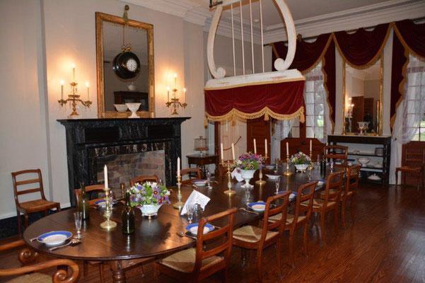 Oak Alley Plantage - Haupthaus Speisezimmer