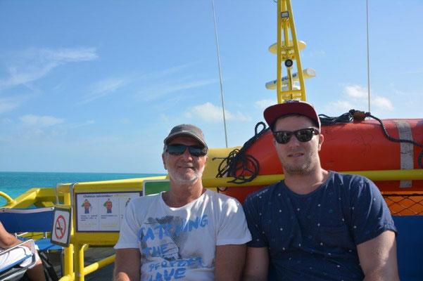Fahrt nach Isla Mujeres