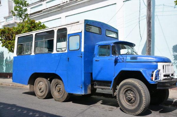Der Standard Bus für die Einheimischen